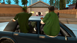 Grand Theft Auto San Andreas 1.07 Mod Unlimited untuk Android