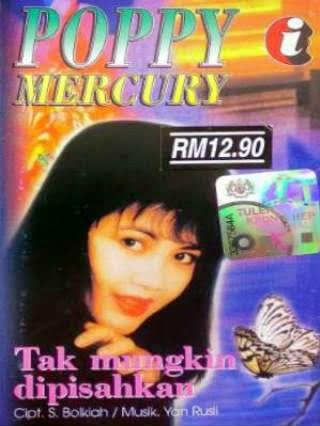 Full Album Poppy Mercury - Tak Mungkin Dipisahkan  (1995)