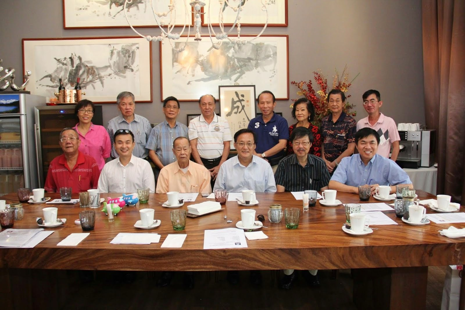 Management Committee 2014/15 ( 理 事 会 职 员 表 )