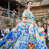 Caltagirone's Ceramic Tiles @ Dolce & Gabbana autumn/winter 2014 couture show