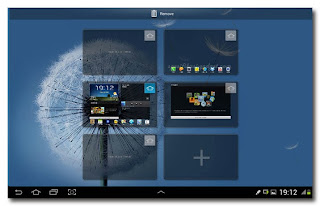 Samsung Galaxy Note 10.1 - edit homescreen
