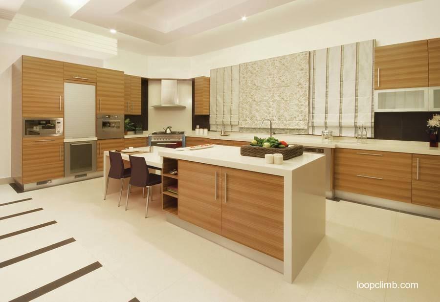 Arquitectura de casas muebles de cocinas modernas for Cocina comedor moderna