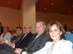 Autoridades en el evento.