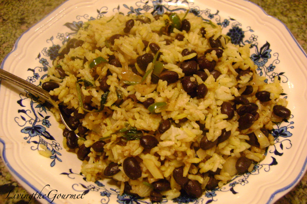 Easy Black Beans and Rice!!! - Living The Gourmet