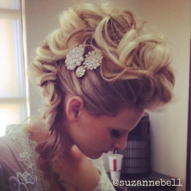 trendy mohawk updos - haircut