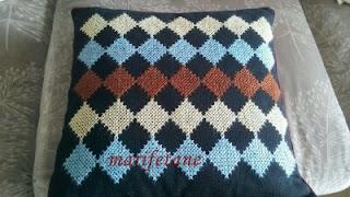 Cross Stitch Pillow