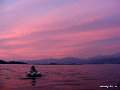 Fethiye Sunset From Popeye's Fish Boat