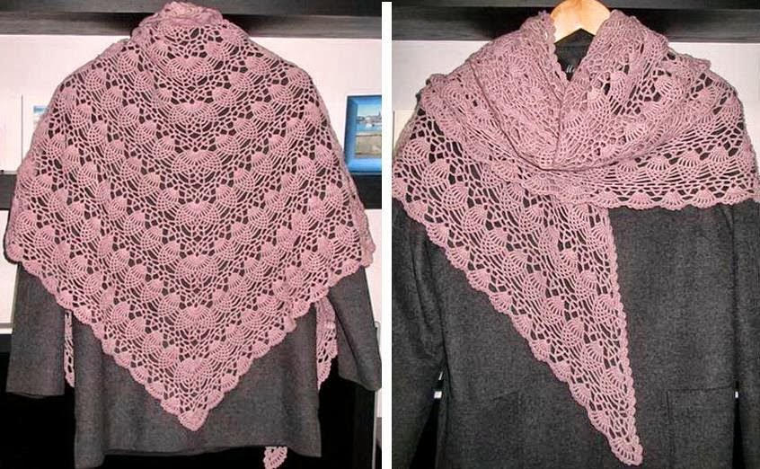 Crochet Motif Shawl - Erieairfair