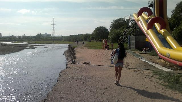 Крутой берег реки Силинки
