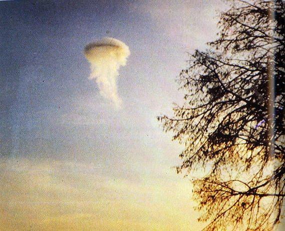 Ovni en Wyborg, Dinamarca 17 de Noviembre de 1974