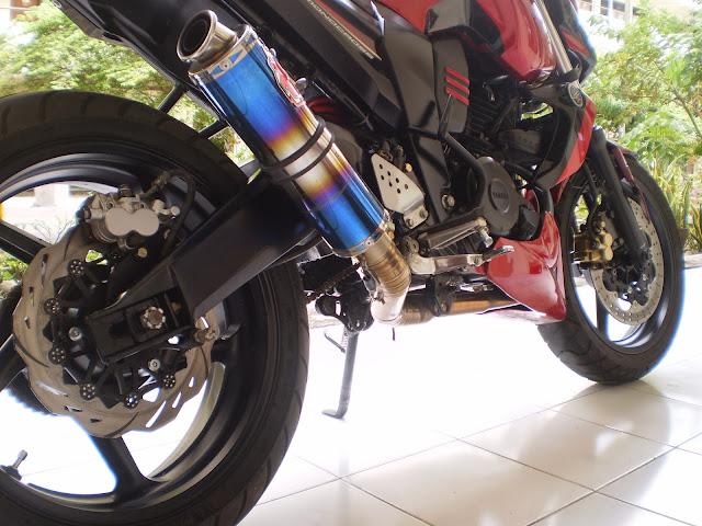 Modifikasi Kak-kaki Yamaha Byson