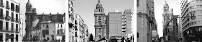 Málaga: Calle Molina Lario 1940-1960-2011