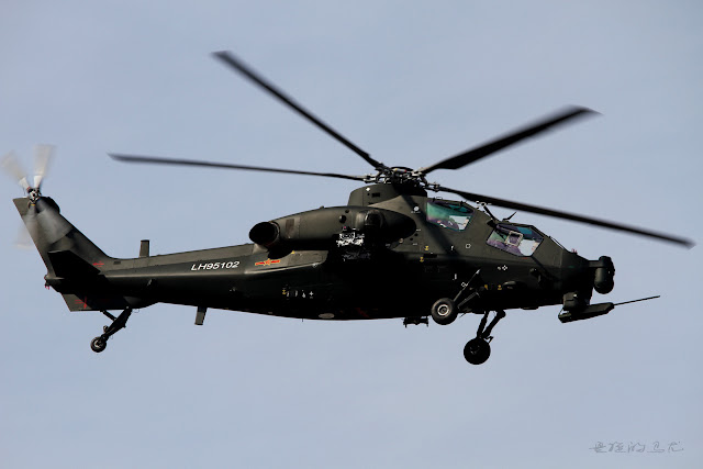WZ-10 ''Thunderbolt'' attack helicopter