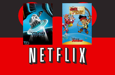 DIsney Netflix Jake Tron announced children's shows new