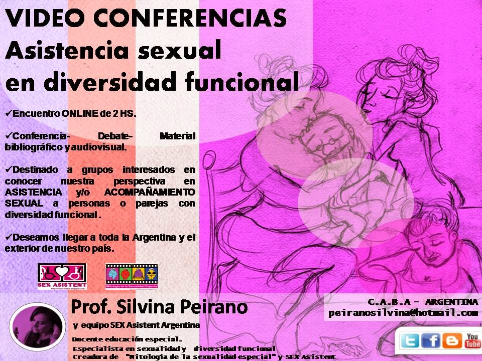 "PROPUESTA: ""VIDEO CONFERENCIAS sobre ASISTENCIA SEXUAL en DIVERSIDAD FUNCIONAL/discapacidad"""
