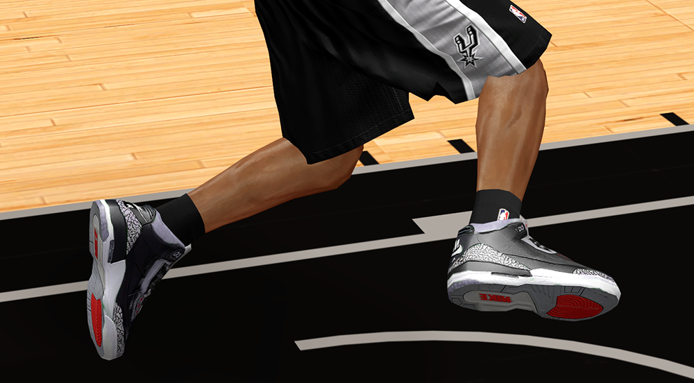 Air Jordan 3 NBA 2K14 Preview