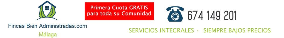 Administrador Fincas Málaga | 1ª Cuota Gratis para tu Comunidad