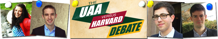 UAA-Harvard Debate