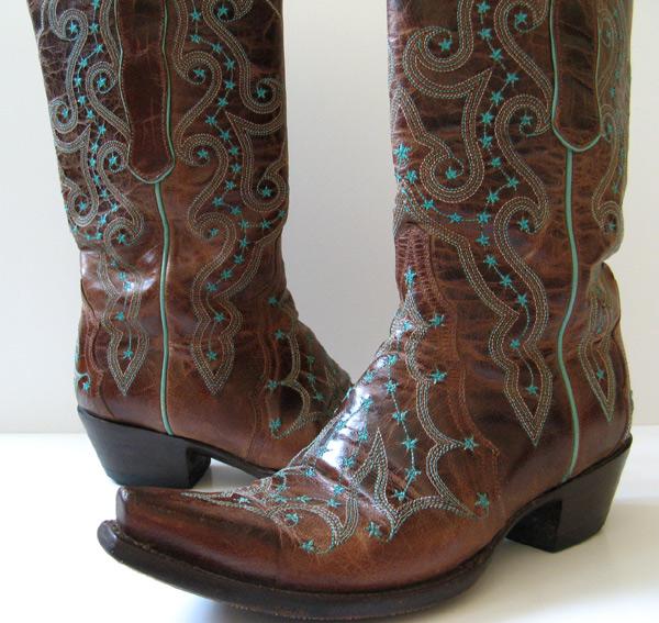 closet gringo brown leather cowboy boots womens