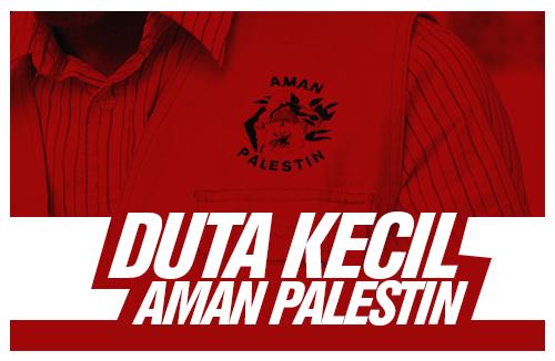 Duta kecil aman palestin