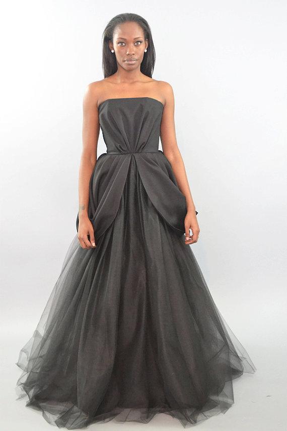 Black Wedding Dresses Pantora Bridal