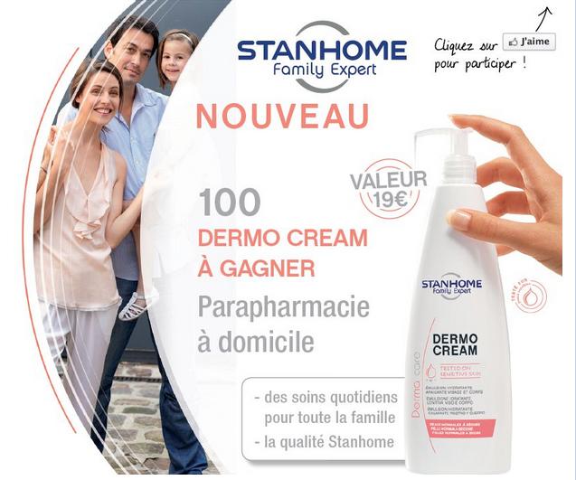 100 Dermo Cream Stanhome Family Expert