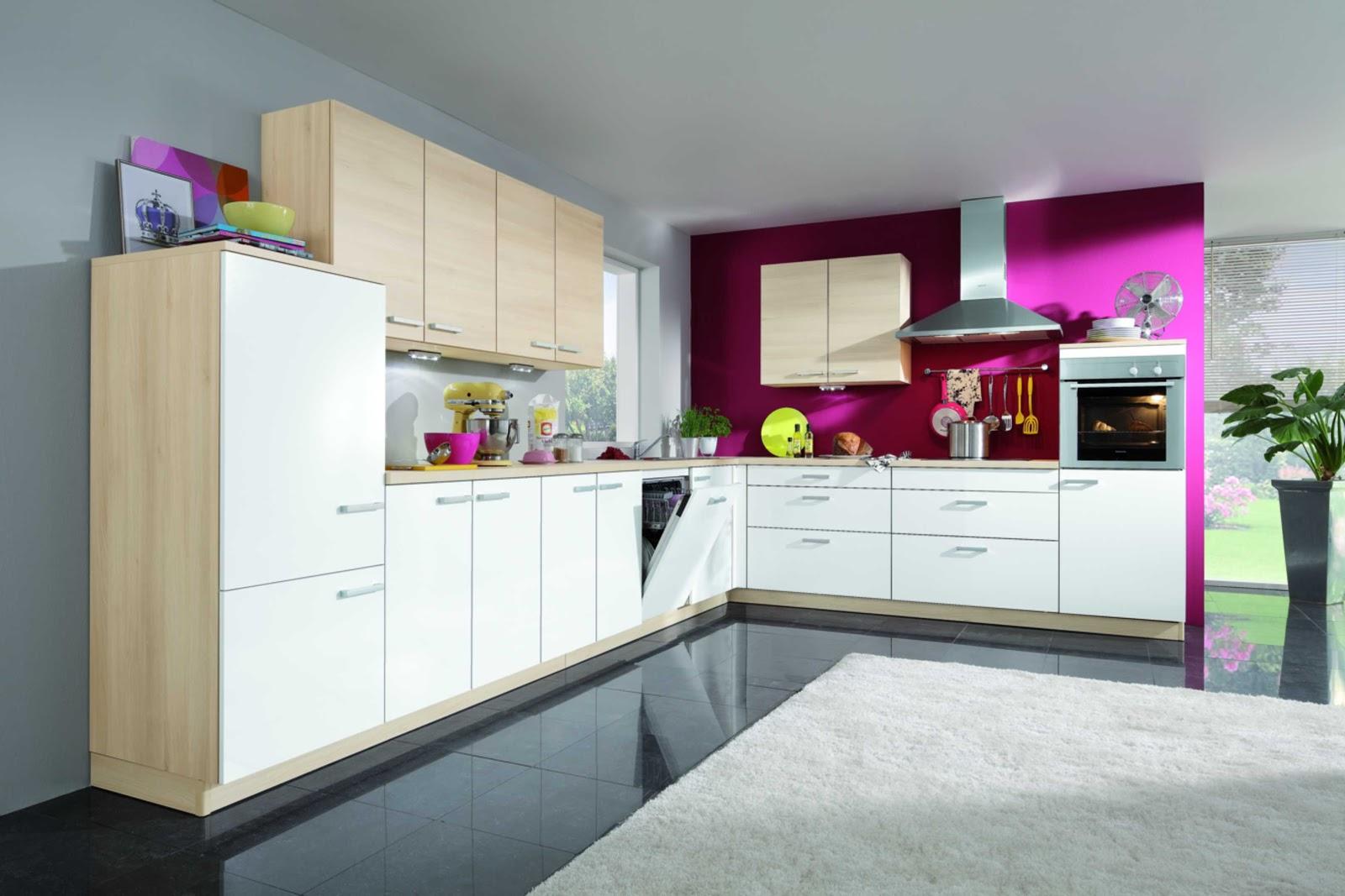 Pink Kitchen  Houzz
