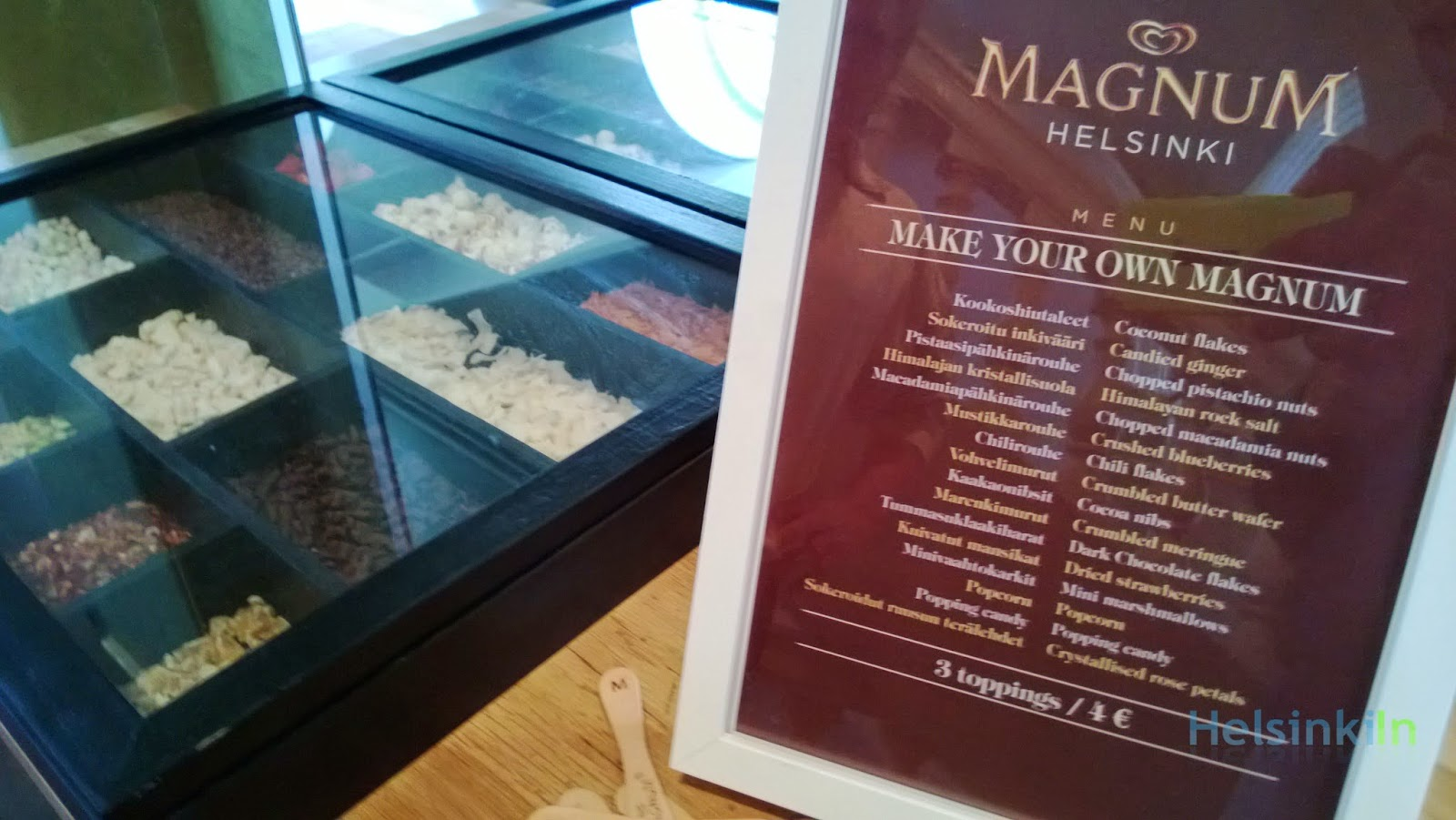 Make your own Magnum in Helsinki