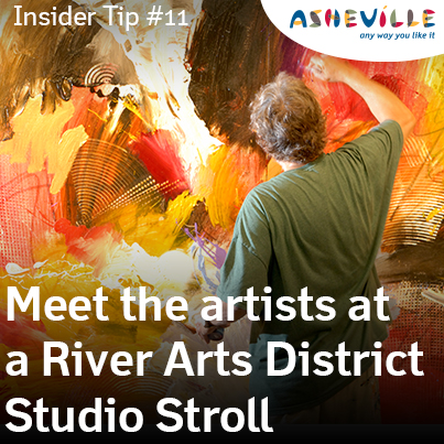 Asheville Insider Tip: River Arts District Studio Stroll
