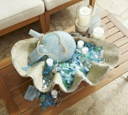 CereusArt Coastal Decor Sea Glass From CereusArt Coastal Decor