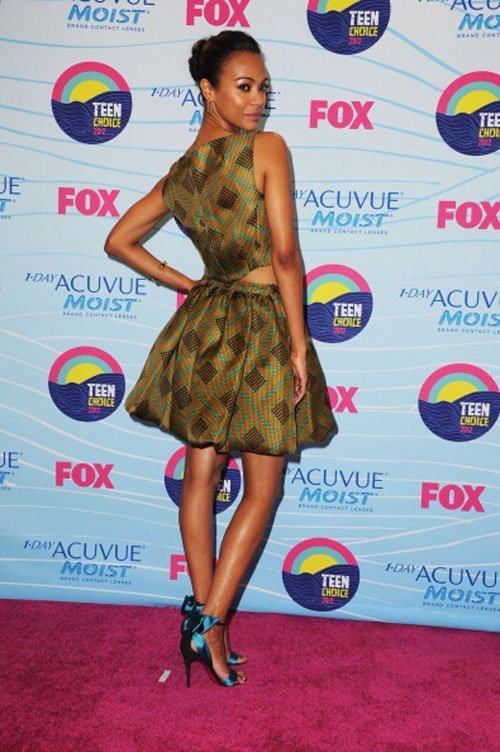 Zoe Saldana Crowned Choice Action Movie Actress! » Gossip | Zoe Saldana