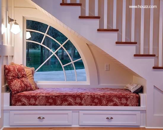 Mueble cama y espacio para almacenar en la casa