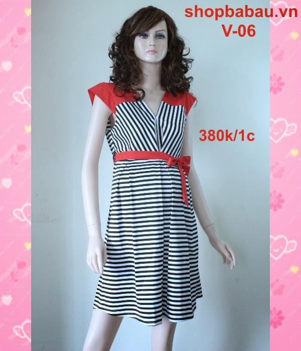 Váy bầu công sở V-06