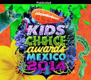 KCA MÉXICO 2014 SOLO EN NICK