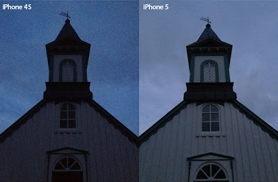 iphone 5 camera vs iphone 4