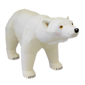 Polar Bear Papercraft
