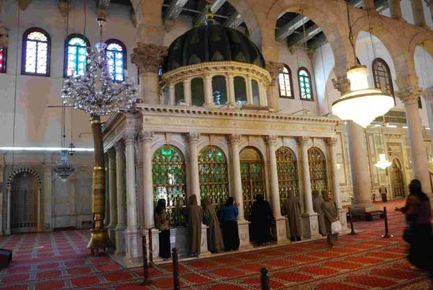 Heritage Umayyad Mosque in Syria