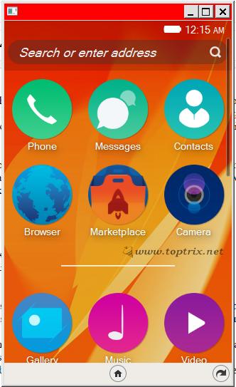 firefox os app menu