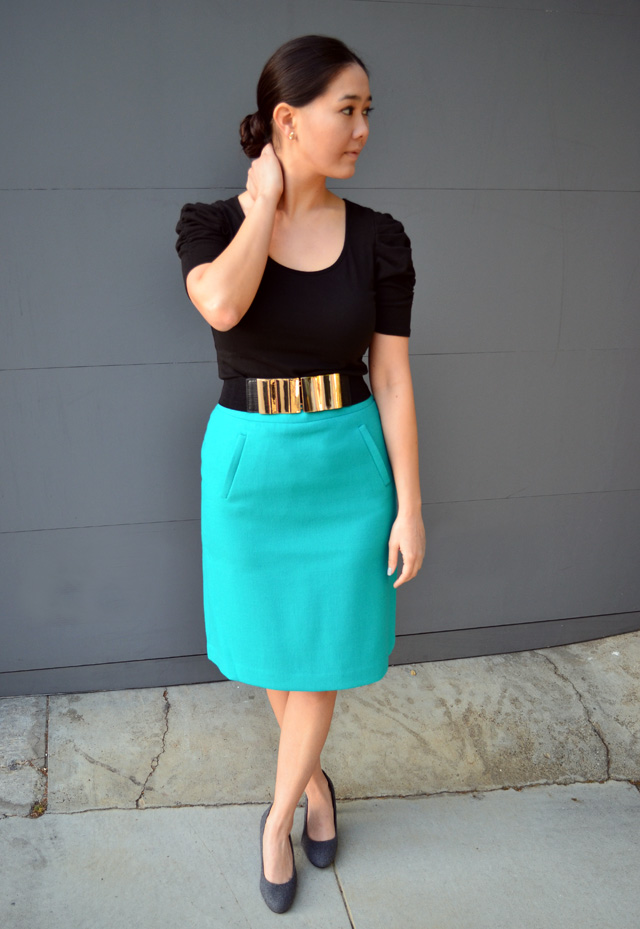 business casual skirt
