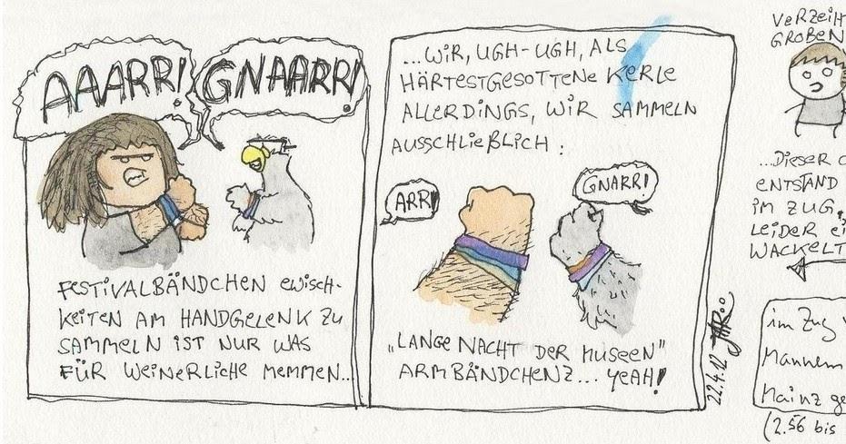 nichts halbes und nichts ganzes: gnaaarr