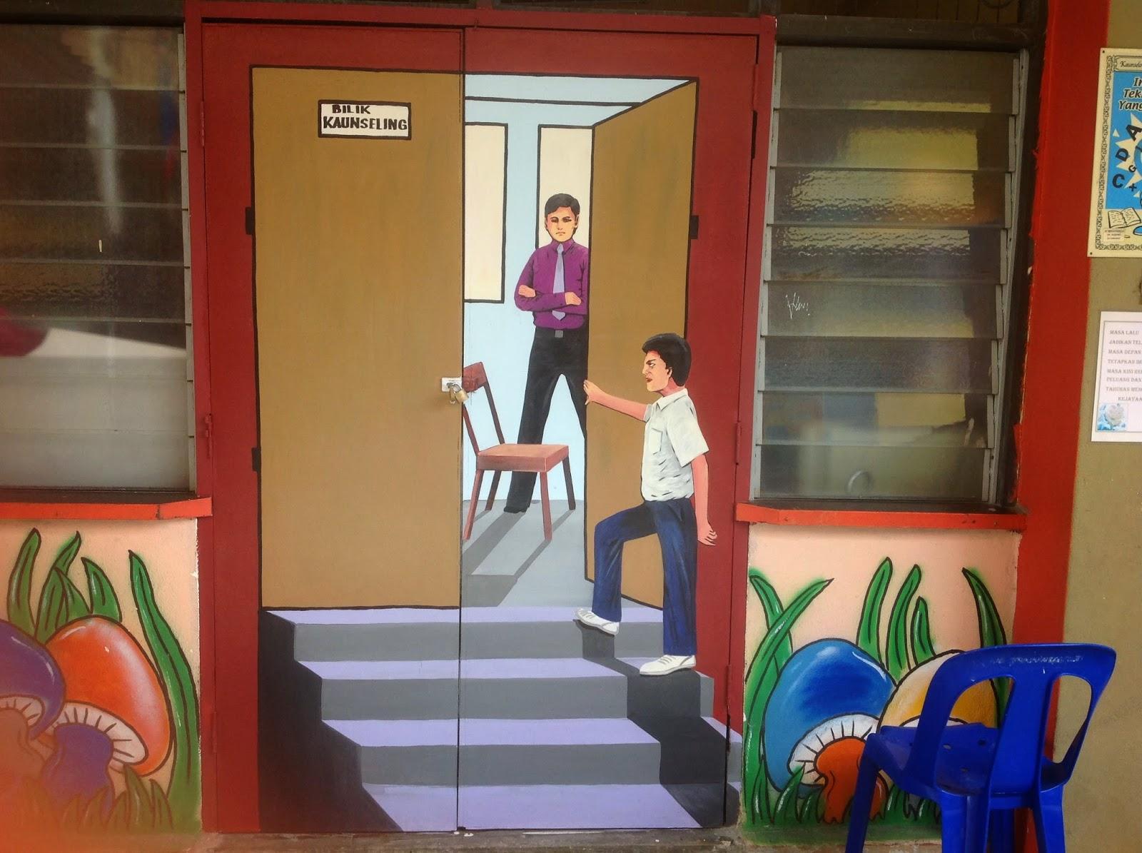 Pelukis mural shah alam mural dadah musuh negara for Mural sekolah rendah