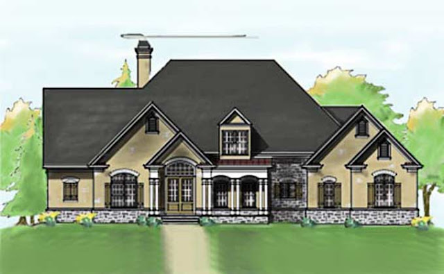 Traditional Brick Home House Plans