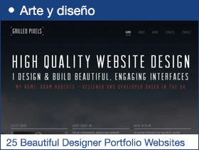 25 Beautiful Designer Portfolio Websites