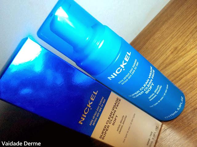 Super Clean Soft da Nickel | Espuma de Limpeza Facial Diária Para Homens