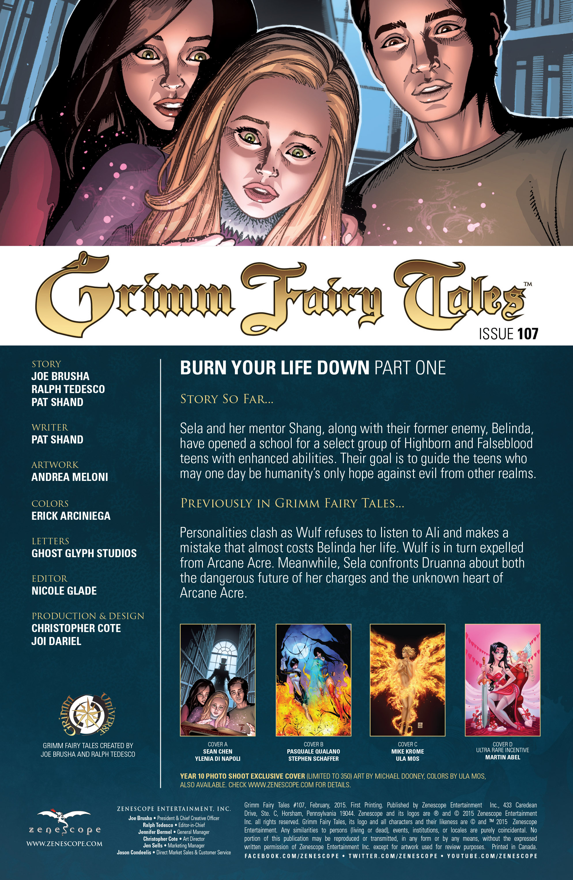 Grimm Fairy Tales (2005) Issue #107 #110 - English 3