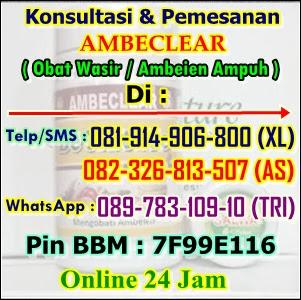 Cara Mengobati Ambeien Tanpa Operasi Di Depok. Hub : 082326813507