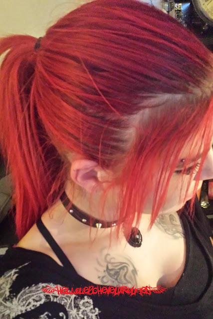 Photo de moi et mes cheveux rouges Hellolescheveuxrouges