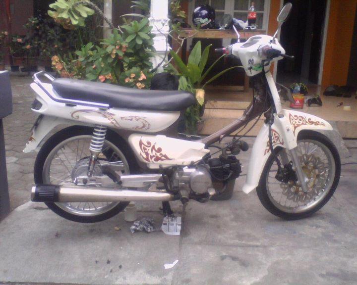 Kumpulan Gambar Modifikasi Motor Honda Astrea Terbaru 2013 title=