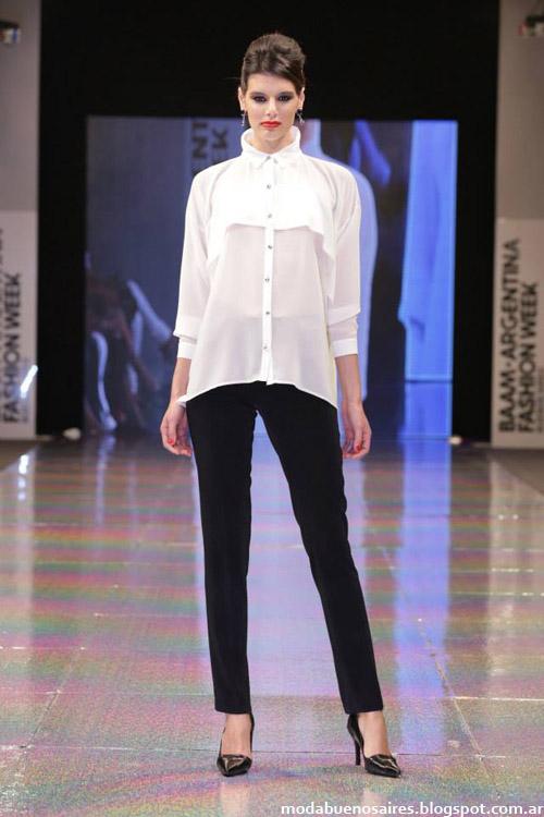 Adriana Costantini otoño invierno 2014 blusas de moda 2014