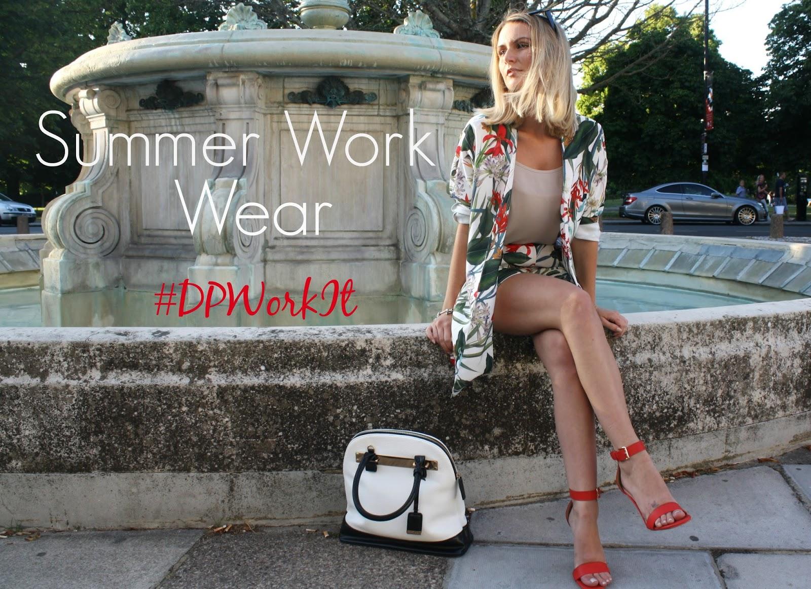 summer work wear wearing Dorothy Perkins